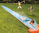Toy Kids Summer Fun Backyard Fun Play Water Slide and 2 Kickboards Inflatable Play Center Summer Outdoor Pool Fun Swimming Sizzlin Cool