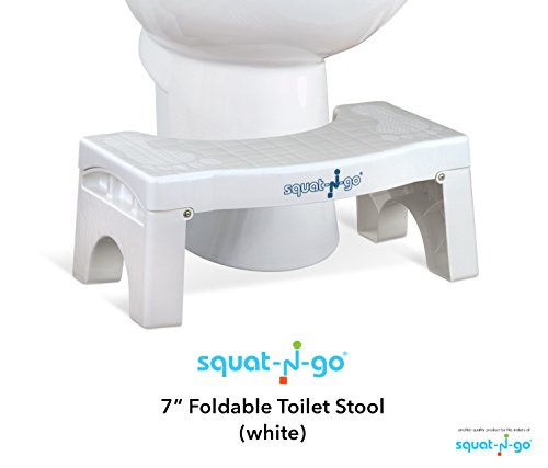 """Squat N Go 7"""" Folding Squatting Stool 