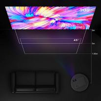 YABER-Native-1080P-Projector-6500-Lux-Upgrad-Full-HD-Video-Projector-1920-x-1080-Support-4k-and-Zoom-Home-Projector-Compatible-with-TV-StickHDMIVGAUSB-SmartphonePCXbox