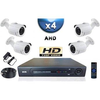 Kit pro AHD Vidéo surveillance securite maison videosurveillance