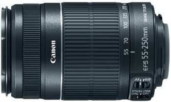 Canon EF-S 55-250mm f / 4.0-5.6 IS II Telephoto Zoom Lens