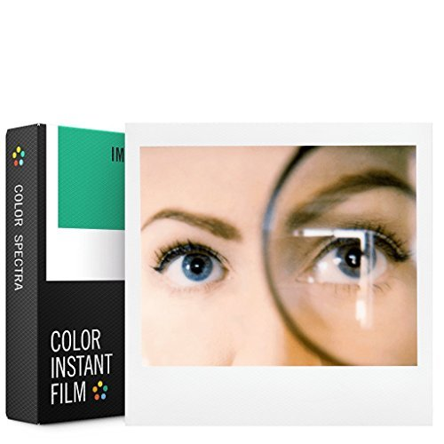 Impossible Spectra Color Polaroid Film, White (4518)
