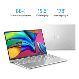 Asus-Vivobook-S15-S512-Thin-and-Light-156-FHD-Intel-Core-I5-8265U-CPU-8GB-RAM-256GB-PCIe-Nvme-SSD-NVIDIA-GeForce-MX250-Windows-10-Home-S512FL-PB52-Silver-Metal