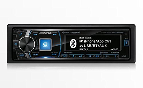 Alpine Single Din Bluetooth Premium LCD Display