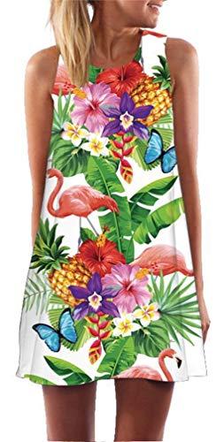Vestido bohemio tropical