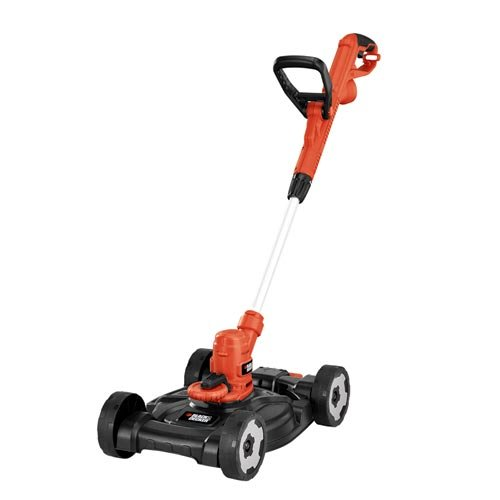 BLACK+DECKER MTE912 12-Inch Electric 3-in-1 Trimmer/Edger and Mower, corded, 6.5-Amp