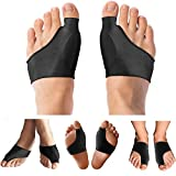 Copper Compression Bunion Cushions and Bunion Corrector Relief Sleeve for Women and Men. Guaranteed Highest Copper Bunion Pads Bootie Cushion Sleeves. Relief for Bunions, Hallux Valgus, Feet. 1 Pair