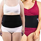 Everyday Medical Plus Size Post Surgery Abdominal Binder I Bariatric Stomach Wrap I Hernia Support for Women and Men I Obesity Girdle great for Liposuction, Postpartum, C-section, Hernia-Size Wide 2XL