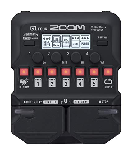 Zoom G1Xon Guitar Effects Pedal with Expression Pedal