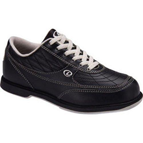 Dexter Turbo II Wide Width Bowling Shoes, Black/Khaki, 13