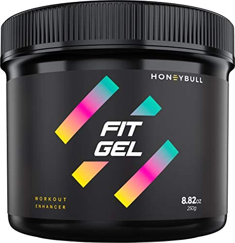 HONEYBULL Fit Gel Workout Enhancer to Sweat More at Gym & Cardio 1