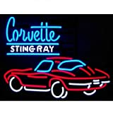 Neonetics 5STING Cars and Motorcycles GM Corvette Stingray Neon Sign
