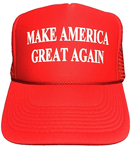 Oliasports Trump 2016 Make America Great Again Red Adjustable Hat