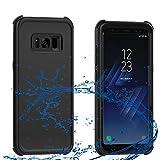 Samsung Galaxy S8 Plus Waterproof Case, AICase Shockproof, Snowproof, DustProof IP68 Certified Dual-use Full Sealed Heavy Duty Protective Waterproof Cover for Samsung Galaxy S8 Plus(6.2 inches),Black