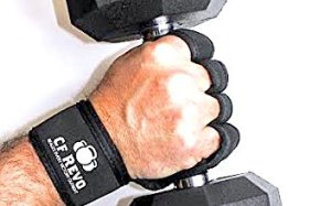 CF Revo Crossfit and Weight Lifting Gloves - Best for Athletes and Strength Training. Full Palm Protection, Maximum Wrist Support, Excellent Padded Grips for Wods, Body Building, Gym Workouts