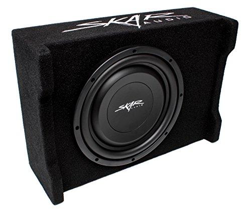 Skar Audio EV-10MB S4 10' Single 4-Ohm 400W Shallow Mount Loaded Subwoofer Enclosure