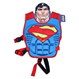 Children Float Swimming Aid Life Jacket Superman Learn-to-Swim Buoyancy Aid Vest (Superman)