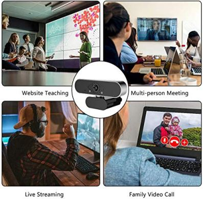 Webcam-with-Microphone-INTPW-1080P-HD-Webcam-Streaming-Computer-Web-Camera-USB-Computer-Camera-for-PC-Laptop-Desktop-Video-CallingConferencing