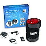 DGYAO 660nm Red Light and 880nm Infrared Light Therapy - Combination 2 in 1 - Knee Elbow Pain Relief Device at Home ,Hands Free for Tissue Recovery