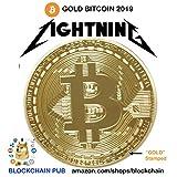 Gold Bitcoin 2019 Commemorative Celebrate The Bitcoin Lightning Network!