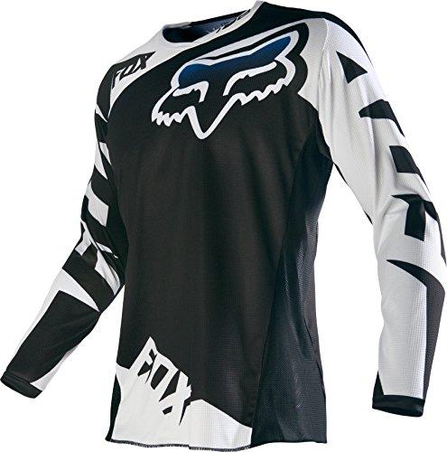 Fox Racing 2016 180 Race Men's Dirt Bike Motorcycle Jerseys - Black / Large