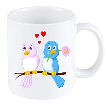 Buy Madworld Love Birds Quotes Beautiful Birds Picture Attractive Design Printed Coffee White Ceramic Mug For Friend Best Gift For Valentin S Day Girlfriend Boyfriend Love Couples Valentine Day Online At Low Prices