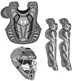 Under Armour Converge Pro Youth 9-12 Catchers Gear Set, Graphite