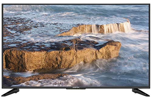 Komodo by Sceptre 50' 4K UHD Ultra Slim LED TV 3840x2160 Memc 120, Metal Black 2019 (KU-515)