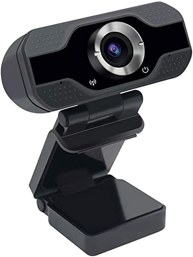 VeeDee 1080P Webcam with Microphone, USB 2.0 Desktop Laptop Computer Web Camera, Plug and Play, for Windows Mac OS, for Video Streaming, Conference, Gaming, Online Classes 2 Mega Pixels (CU1)