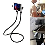 Lazy Neck Phone Holder Hand-free Rotating Vertical Horizontal Gooseneck Multiple Function Mounts - for Cell Phone,Tablet,iPad,Kindle,iPhone,Samsung,and Other Smartphone Devices Multi Angle Holder