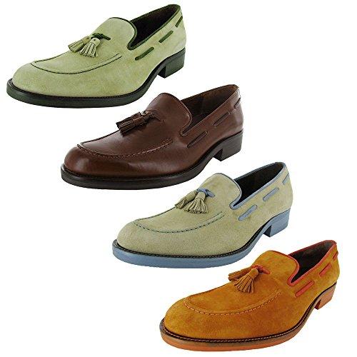 51%2BI9oGK3hL Sport Suede OR Vintage Calf Leather Upper Rubber Sole Easy Slip-On Design