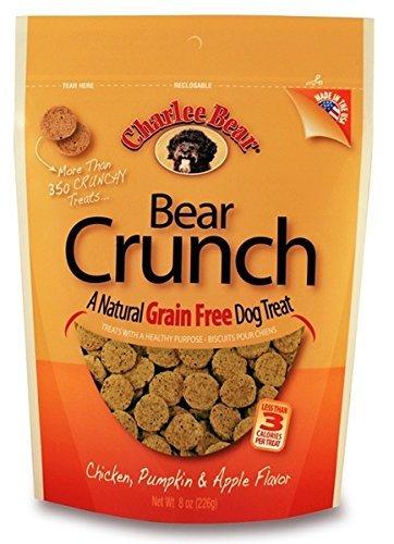 Charlee Bear Grain-Free Bear Crunch Chicken, Pumpkin & Apple Flavor - 2 Pack (16oz total) 1