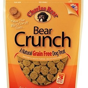Charlee Bear Grain-Free Bear Crunch Chicken, Pumpkin & Apple Flavor – 2 Pack (16oz total)