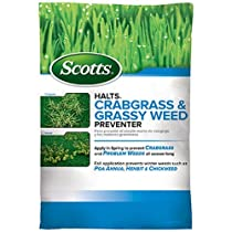Scotts Halts Crabgrass and Grassy Weed Preventer, 5,000-sq ft