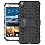 HTC One X9 Case, CoverON [Atomic Series] Hybrid Armor Cover Tough Protective Hard Kickstand Phone Case for HTC One X9 - Black