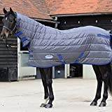 Product review for Weatherbeeta Comfitec Thinsulate Channel Quilt Combo Neck Heavy Grey/Blue 78""