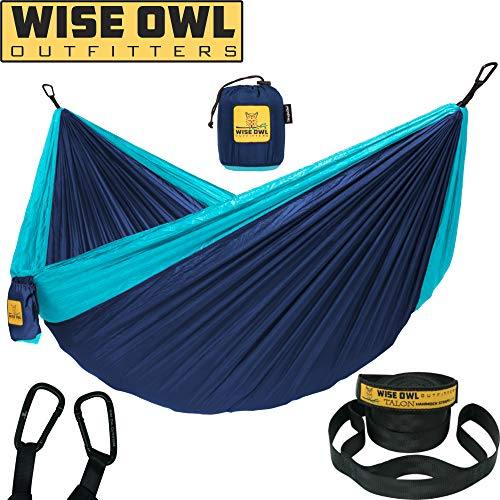 Wise Owl Outfitters Hammock Camping Double &...