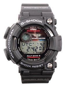 Casio G-Shock Frogman Digital Dial Black Resin Solar Quartz Mens Watch GWF1000-1