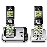 VTech CS6719-2 2-Handset Expandable Cordless Phone with Caller ID/Call Waiting, Handset Intercom & Backlit Display/Keypad