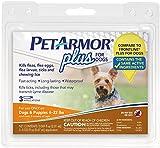 PETARMOR Plus Flea & Tick for Dogs - 4-22 lbs - 3 ct