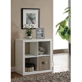 Product review for Versatile Better Homes and Gardens Square 4-Cube Organizer, Multiple Colors (White)