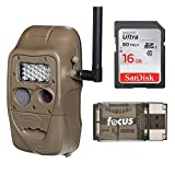 Cuddeback CuddeLink J Series Networked Long Range IR Trail Camera with 16GB Card and Focus USB Reader
