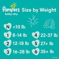 Pampers Baby-Dry Diapers are 3x drier* for all-night sleep protection