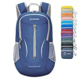 ZOMAKE Ultra Lightweight Packable Backpack, 25L Small Water Resistant Hiking Daypack Foldable Travel Backpack for Men Women Outdoor(Jewelry Blue)