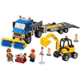 LEGO City Great Vehicles Sweeper & Excavator 60152