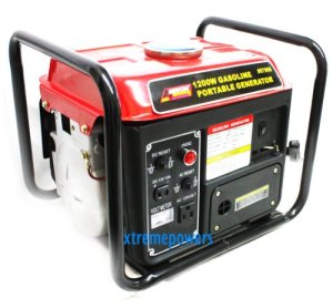 1200W Gas Powered Generator Gasoline Portable Camping