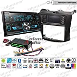Volunteer Audio Kenwood DPX593BT Double Din Radio Install Kit with Bluetooth, Sirius XM Ready, CD Player Fits 2003-2007 Honda Accord