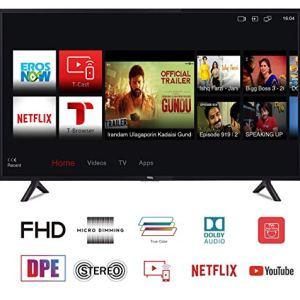 TCL 123.15 cm (49 Inches) Full HD LED Smart TV 49S62FS (Black)