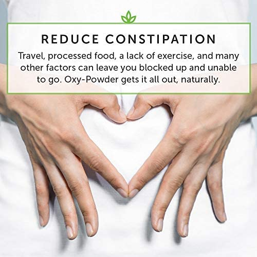 Global Healing Center Oxy-Powder Oxygen Based Safe and Natural Colon Cleanser and Relief from Occasional Constipation (60 Capsules) 4