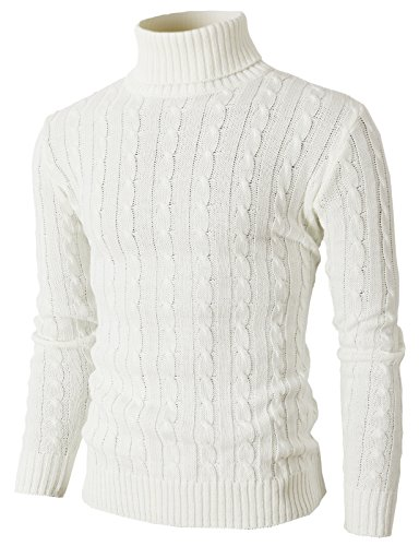 Slim Fit Pullover Sweaters with Twist Patterned